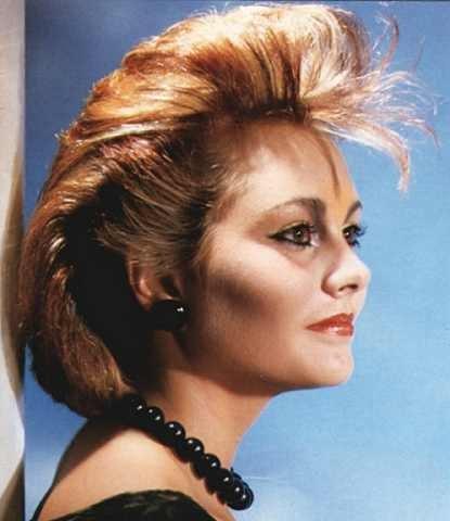 Coafura in anii'80, Foto: fashionandhairstyles.com