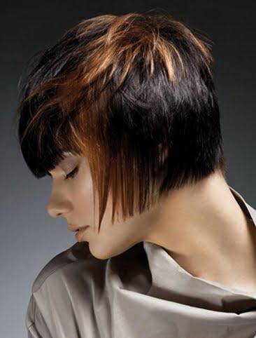 Coafura moderna asimetrica, Foto: hairstyles-galaxy.com
