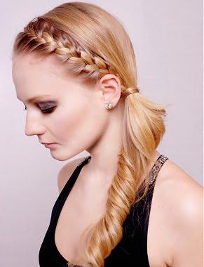 Coafura simpla si eleganta, Foto: peinadosysolopeinados.blogspot.ro