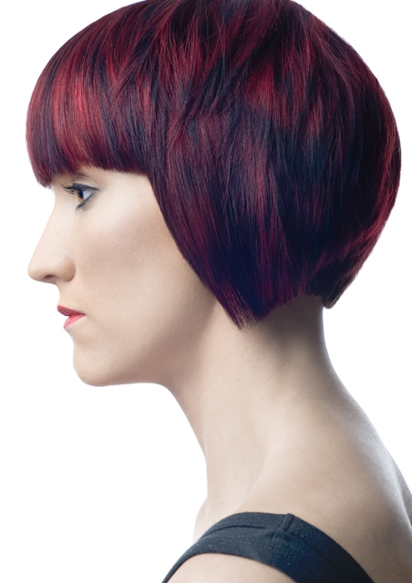 Combinatie de nuante de par la moda in 2014, Foto: direct-hairstyles.com