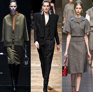 Costume de dama Gucci, Balmain, Dolce & Gabbana, Foto: fallwinterfashiontrends.com