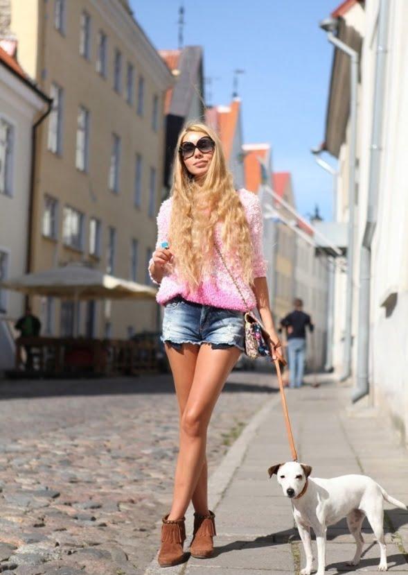 Look in stil Barbie, Foto: thebestfashionblog.com