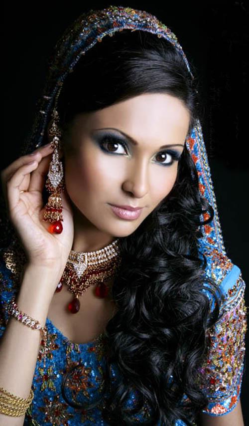 Machiaj in stil indian, Foto: fashioncentra.blogspot.ro