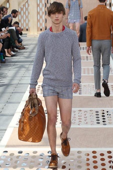 Moda Louis Vuitton, tunsoare moderna in anul 2014, Foto: visualtalesmagazine.blogspot.ro