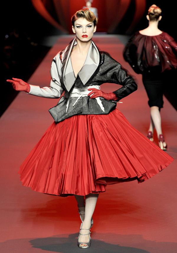Rochie Christian Dior , Foto: fashandme.blogspot.ro