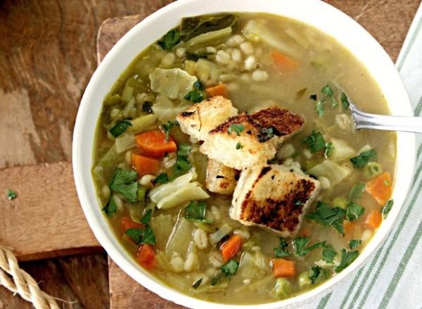 Supa cu legume, Foto: biggiantfoodbasket.blogspot.ro