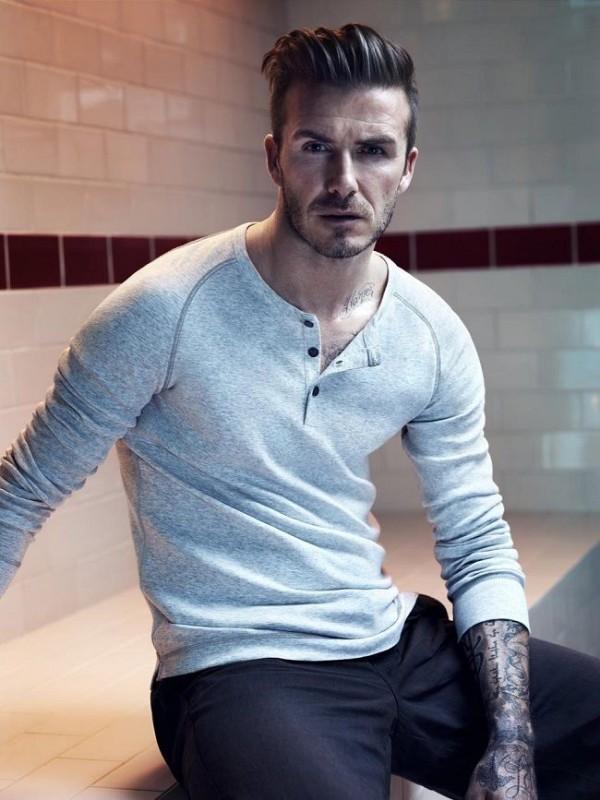 Tunsoare eleganta la David Beckham, Foto: runwitme.blogspot.ro