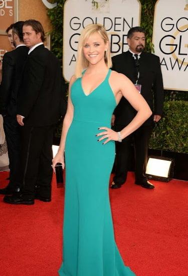 Actrita Reese Witherspoon cu rochie Calvin Klein, Foto: fluentinsparkle.blogspot.ro