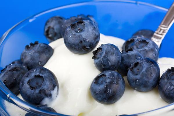 Afine cu iaurt, Foto: yogurtdiaries.blogspot.com
