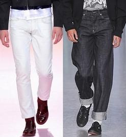 Blugi la moda, creatii Paul Smith, Sibling, Foto: springsummerfashiontrends.com