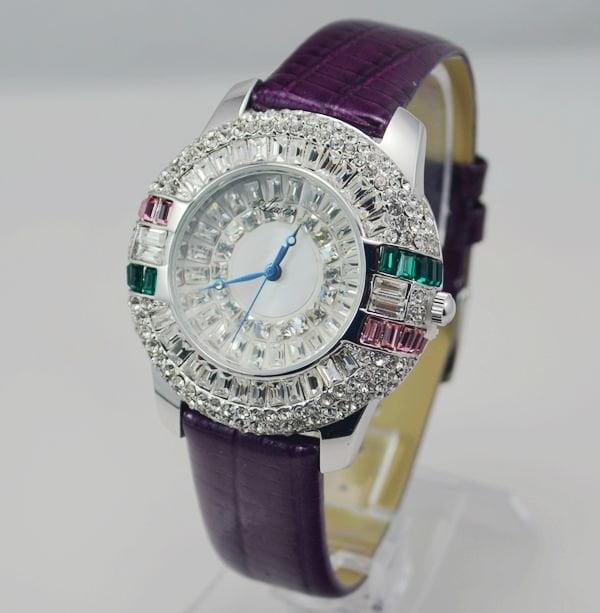 Ceas din cristal, Foto: fashiontrends11.blogspot.ro
