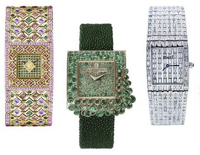 Ceas la moda in primavara anului 2014, creatie Buccellati, De Grisogono, Piaget, Foto: springsummerfashiontrends.com