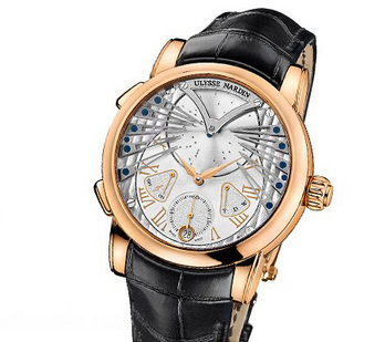 Ceasuri de mana pentru barbati, marca Ulysse Nardin, Foto: springsummerfashiontrends.com