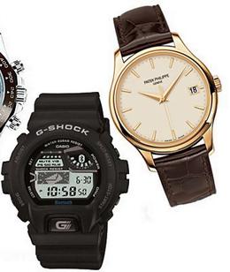 Ceasuri pentru barbati, marca Casio, Patek Philippe, Foto: springsummerfashiontrends.com