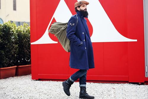 Moda la barbati nonconformisti, Foto: cnxz.cn