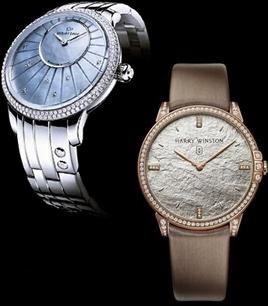 Model de ceas Jaquet Droz, Harry Winston, Foto: springsummerfashiontrends.com