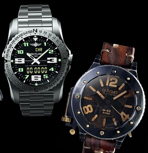 Modele noi de ceasuri pentru barbati, marca Breitling, U-BOAT, Foto: springsummerfashiontrends.com