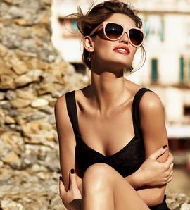 Ochelari Dolce&Gabbana, Foto: mydiamondglasses.blogspot.ro