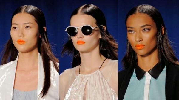 Rujul portocaliu la moda in 2014, Foto: thebloomincouch.blogspot.ro