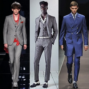 Sacouri elegante pentru barbati, marca John Varvatos, Berluti, Canali, Foto: springsummerfashiontrends.com