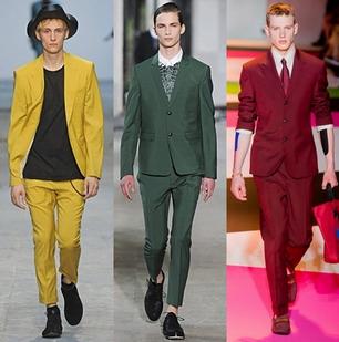 Sacouri la mod ain primavara anului 2014, creatii Costume National, Kris Van Assche, Versace, Foto: springsummerfashiontrends.com