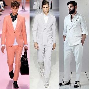 Sacouri pentru barbati la moda in primavara anului 2014, creatii Paul Smith, Emporio Armani, Berluti, Foto: springsummerfashiontrends.com