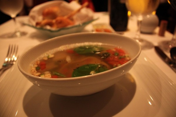 Supa de ton si legume, royalcaribbeanblog.com