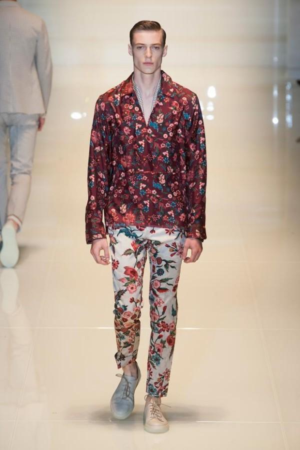 Tinuta eleganta pentru barbati in primavara 2014, creatie Gucci, Foto: stylediary1.blogspot.ro