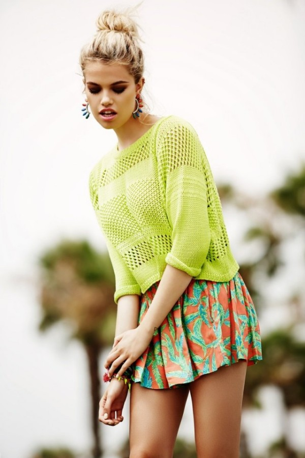 Tinuta la moda in primavara lui 2014, Foto: fashiondivadesign.com