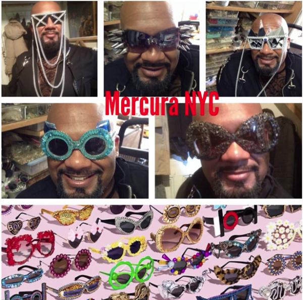 Modele extravagante de ochelari de soare Mercura NYC, Foto: mercura.blogspot.ro