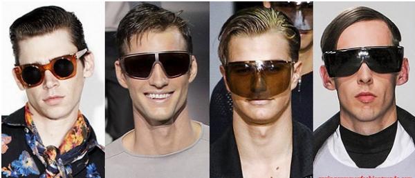 Ochelari de soare cu lentile foarte mari pentru barbati, marca Marc Jacobs, Emporio Armani, Emporio Armani, Agi & Sam, Foto: springsummerfashiontrends.com