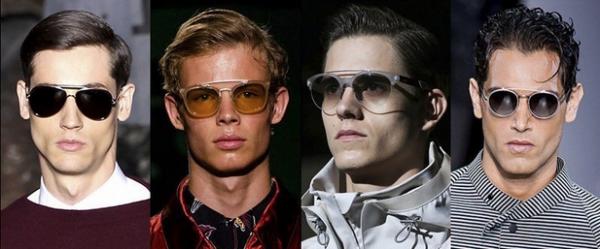 Ochelari de soare cu rame din materiale diferite, marca Valentino, Prada, Gucci, Giorgio Armani, Foto: springsummerfashiontrends.com