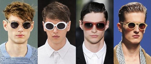Ochelari cu rame din plastic pentru barbati, marca Nicole Farhi, Rag & Bone, Kris Van Assche, Ermenegildo Zegna, Foto: springsummerfashiontrends.com