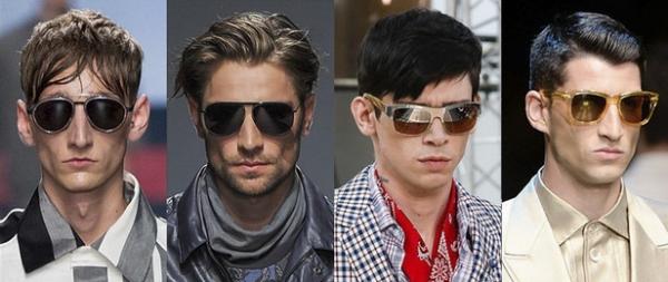 Ochelari de soare pentru barbati, marca Damir Doma, Trussardi, Louis Vuitton, Dolce & Gabbana, Foto: springsummerfashiontrends.com