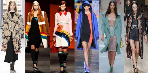 Pardesie de dama la moda in primavara anului 2014, colectia Proenza Schouler, Prada, Prada, DKNY, Burberry Prorsum, Valentino, Foto: springsummerfashiontrends.com