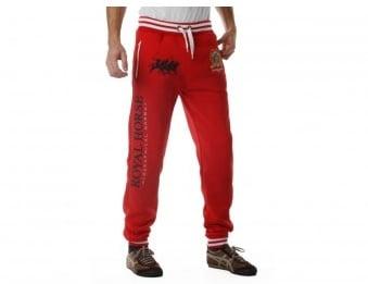 Pantaloni trening barbati Geographical Norway Mygood red