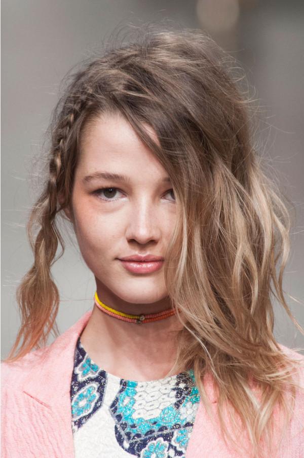 Coafura hippie la moda in 2014