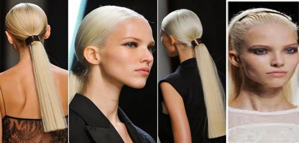 Coafuri moderne in stil coada de cal, Foto: haircolourclinic.blogspot.ro