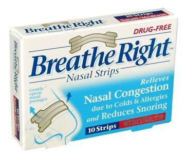 Plature Breathe Right Nasal Strips