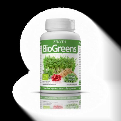 BioGreens, supliment alimentar cu germeni, alge si lastari