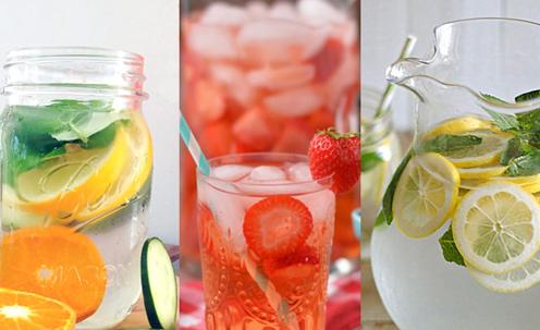 Limonade naturale din fructe