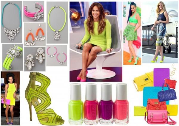 Accesorii în culori neon, Foto: kuku.com.au