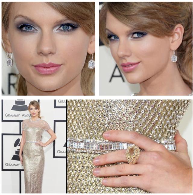 Bijuterii fine la Taylor Swift, Foto: alsonjewelers.wordpress.com