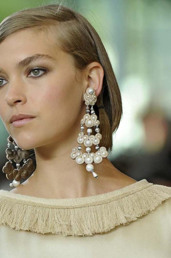 Cercei candelabru din perle, Foto: eternalsparkles.com