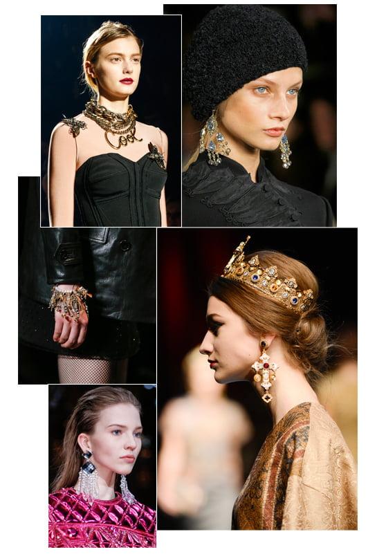 Cercei candelabru la modă în anul 2014, Foto: en.vogue.fr