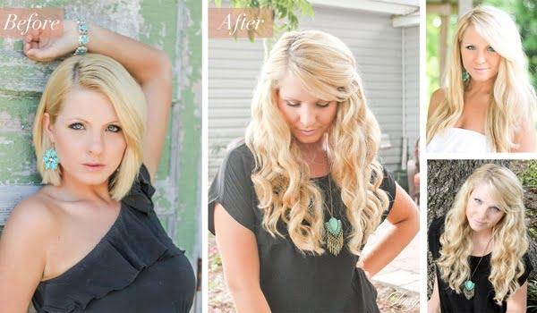 Coafură elegantă pentru femei cu păr blond cu extensii, Foto: icaitu.com