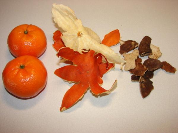 Coajă de mandarină, Foto: sunflower-recipes.blogspot.com