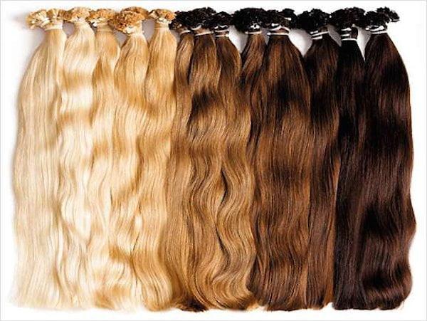 Extensii de păr în culori diferite, Foto: images.beautyworldnews.com