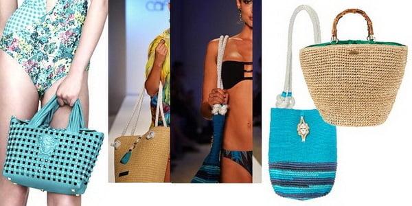 Genți de plajă la modă în 2014, Foto: new-beautyblog.com