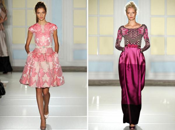 Moda în 2014, colecția John Rocha, Foto: mariefranceasia.com